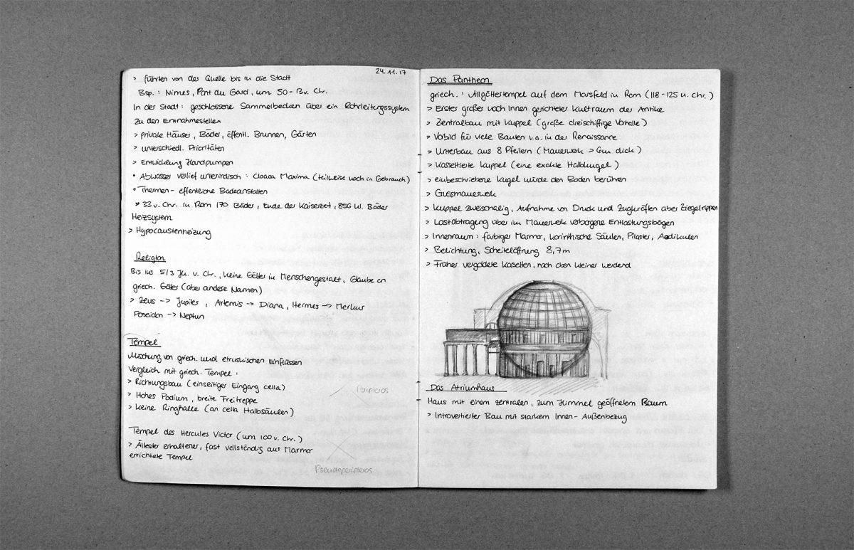 Baugeschichte – Theorie der Architektur und Entwerfen